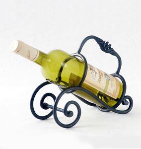 Obrázek z stojan na víno VOZÍK (1 lahev)