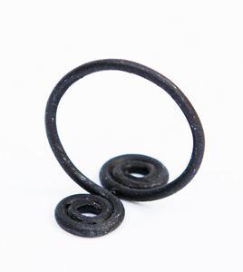 Obrázek z Kovaný prsten KLUBÍČKO