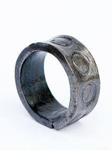 Obrázek z Kovaný prsten KROUŽEK