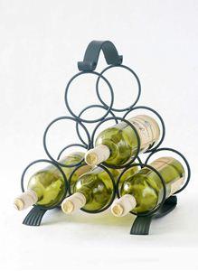 Obrázek z stojan na víno MAŘENKA (6 lahví)