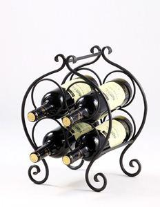 Obrázek z stojan na víno SOUDEK (4 lahve)